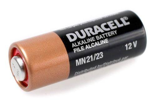 Batterie A23 Duracell Alkaline 12V 28,5x10,3mm - 23A MN21 K23A LRV08 - lose Bulk
