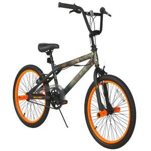 20 Inch BMX Camo Bike with custom Water Transfer Paint Kids Ride On