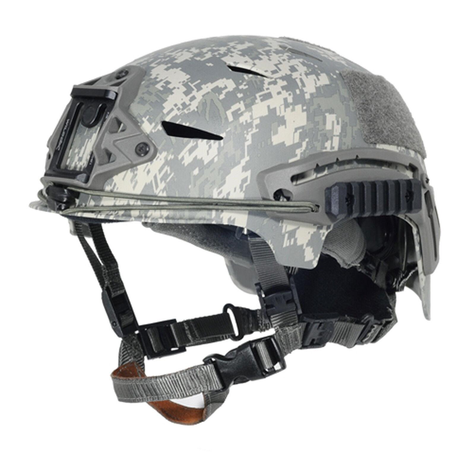 COOL Airsoft CS Predective FMA EXF BUMP Helmet ACU PA788 L XL