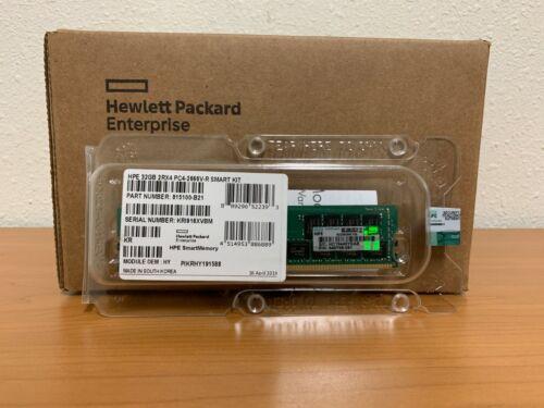 NEW FACTORY SEALED HPE 815100-B21 840758-091 32GB 2RX4 PC4-2666V-R SMART KIT