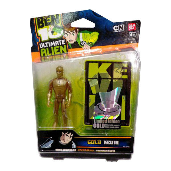 Ben 10 Ultimate Alien Special Edition Action Figure - Ultimate Kevin (Gold)