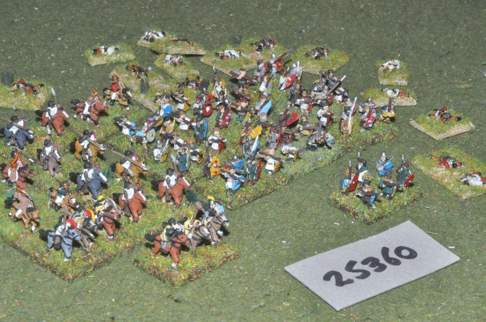 10mm roman era   goth - army 80 figures - inf (25360)
