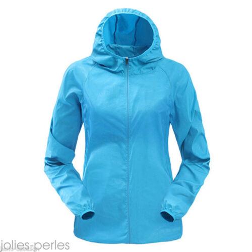 Summer Unisex Rain-proof Sun-proof Thin Sports Jacket Outdoor Fast-dry Coat