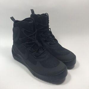 874a6c8bf99 Nike Air Wild Mid 916819-001 Triple Black Anthracite Men s Hiking ...