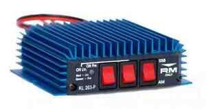 RM-KL203P-KL203-P-Amplifier-Burner-Pre-Amp-100W-FM-200W-SSB-Ham-Radio-CB-HAM