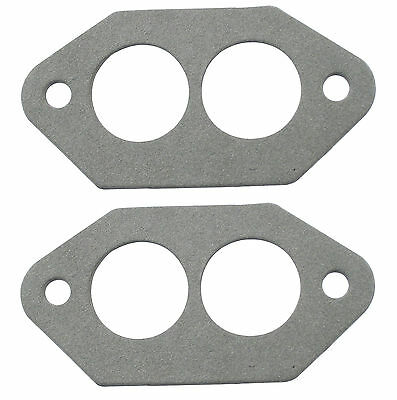 Pair VW Beetle Dual Port Intake Manifold Gaskets Paper Style