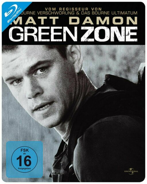 GREEN ZONE - STEELBOOK - Blu-Ray Neu/Ovp