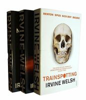 Irvine Welsh Books 3 Books Fiction Collection Trainspotting Filth Maribou New