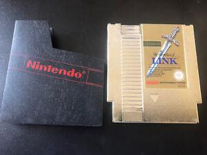 Nintendo Entertainment System NES The Legend Of ZELDA II Adventures of Link GOLD