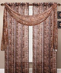 Luxury Leopard Skin Animal Print Sheer Curtain African