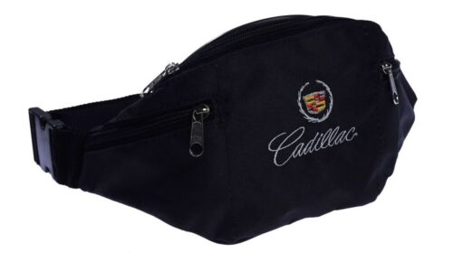 CADILLAC WAIST FANNY PACK ADJUSTABLE BELLY BUM BAG flag