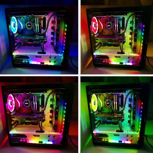 Addressable ARGB WS2811 Led Strip Rainbow Digital Light Strip PC Computer Case