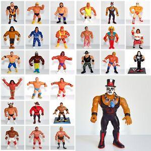 Vintage-Hasbro-1990-039-s-WWF-Wrestling-Figures-amp-WCW-Galoob