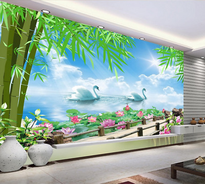 3D Sun Regenbogen Haus 7888 Tapete Wandgemälde Tapeten Bild Familie DE Summer