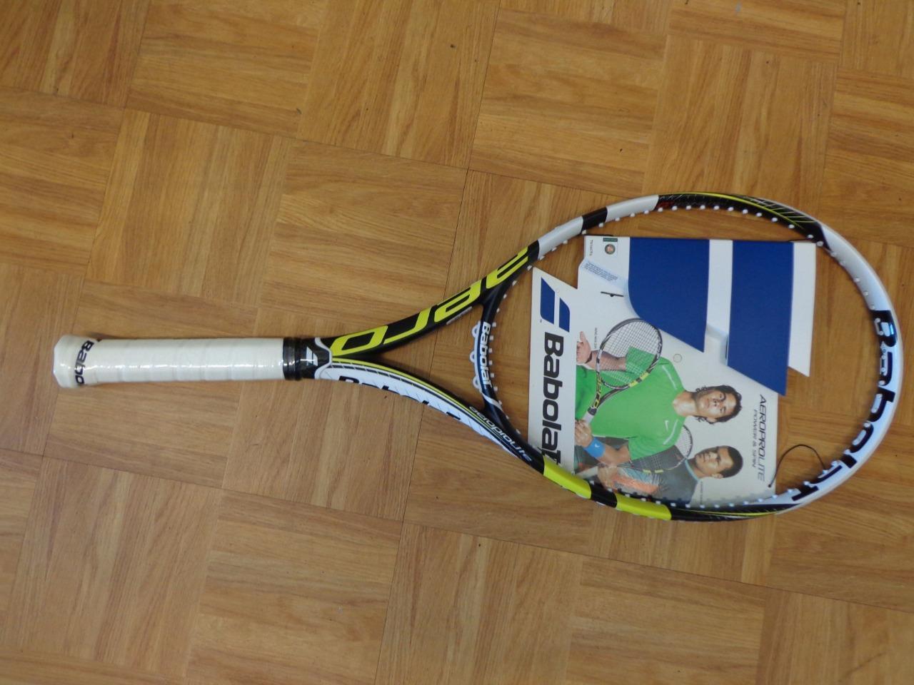 NEW Babolat Aero Pro LITE 9.2oz 100 head 4 3/8 grip Tennis Racquet