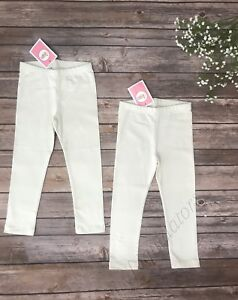cc1f9f94a5788 Set of 2 Circo leggings Almond Cream off white bottoms New Size 3T ...