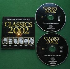 Classics 2002 Pavarotti Bond Terfel Yo-Yo Ma Mouskouri Secombe Cantamus + 2 x CD