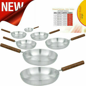 Supreme Quality Aluminium Frying Pan with Wooden handle