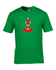 LIVERPOOL Favourite TEAM KIT COLOURS Boy/'s Personalised Football Fan T-Shirt