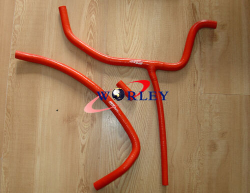 silicone radiator hose for ATV Cam-Am DS450 2008 RED