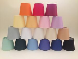 Image Is Loading Small Clip On Candle Lampshade Ceiling Light Shade