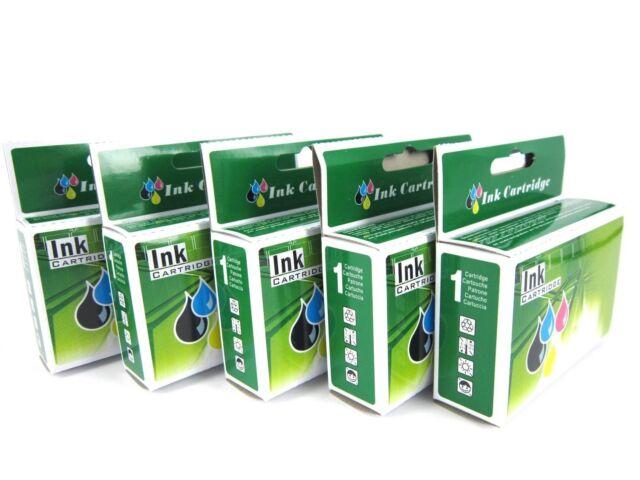 5 x Ink Cartridge 220XL for Epson workforce WF 2760 WF2750 WF2660 XP420 220 XL