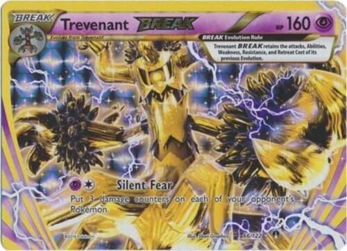 Pokemon Trevenant BREAK 66//122 XY Breakpoint HOLO PERFECT MINT