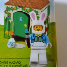 Lego Easter Minifigures Accessory Pack with Paint Brush, Bunnies Eggs Flowers and Carrots