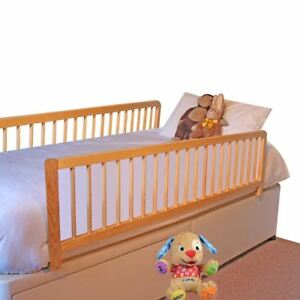 Safetots Extra Wide Double Sided Wooden Bed Rail Toddler Bed Guard