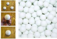 40mm Ping Pong Table Tennis Balls 1 Gross 12/Dozen Bulk Wholesale White Play