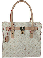 Giulia Pieralli Damen Tasche  Handtasche  Shopper  in creme  No. 28630