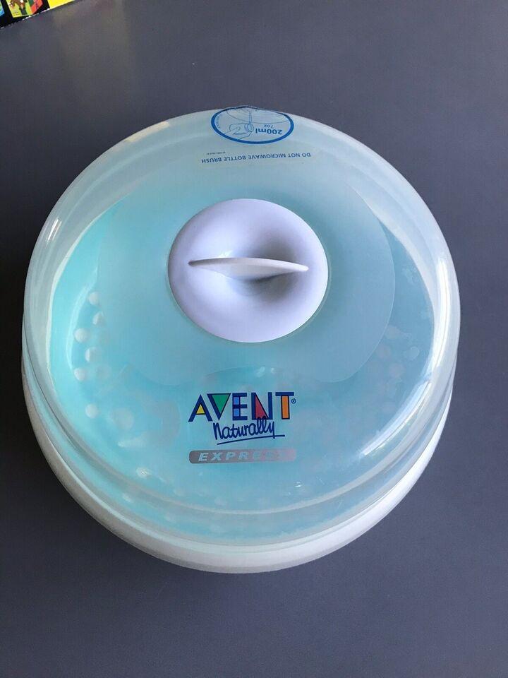 Andet, Sutteflaske dampsterilisator, Avent