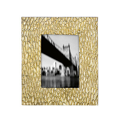 Donna Karan DEVORE- Gold 5X7 Picture Frame by Lenox BRAND NEW IN THE BOX $150.00