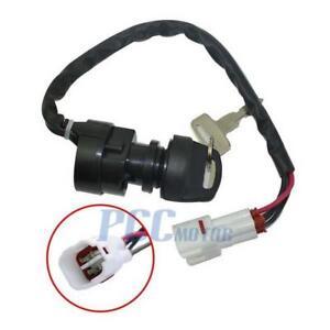 4 Wire Ignition Key Switch Yamaha RAPTOR 80 YFM80 ATV 2002-2008 M ...