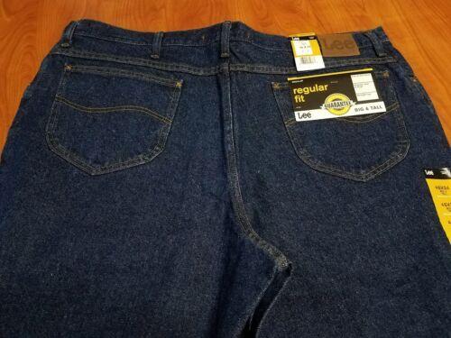 Mens Big tailles Regular Jeans Coupe Bleu Jeans Nouveau disponibles Lee Tall Droit Fit Plusieurs pSERwx5