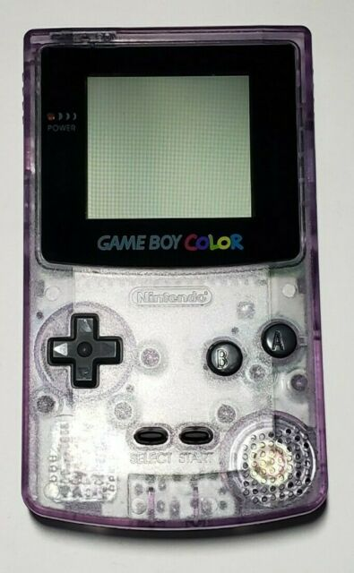 Nintendo Game Boy Color Handheld Console Atomic Purple For Sale Online Ebay