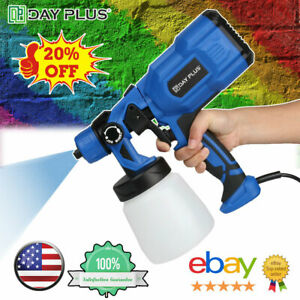 550W 800ML Electric Paint Sprayer AIR Spray Gun Indoor Outdoor Garden Fence Wall