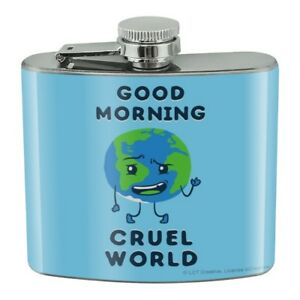 You Da Manta Ray Cool Man Funny Humor Stainless Steel 5oz Hip Drink Kidney Flask