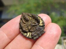 Small metal Amulet Avalokiteshvara  Sahasrabhuja Lokeshvara Thailand