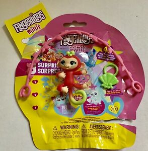 Details about FINGERLINGS MINIS Series 3 Charm Anna Monkey Popular complete Blind bag