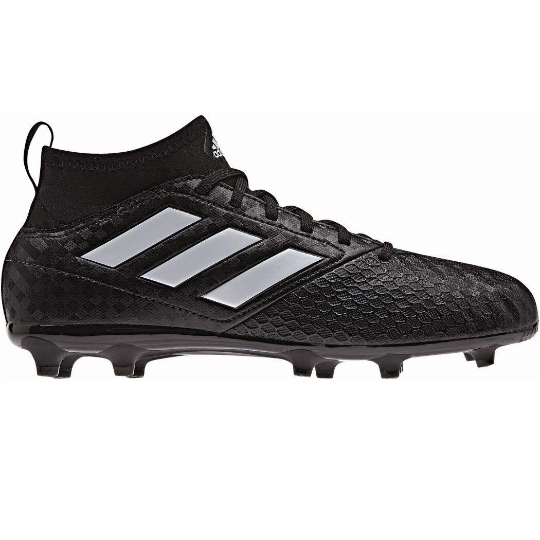 Adidas ACE 17.3 Primemesh FG Junior schwarz Pack Knöchel-Socke schwarz weiß BA9233