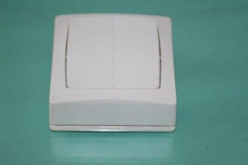 bouton poussoir complet série Otéo blanc  Legrand 86007 va et vient
