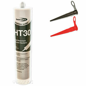 HT30 HIGH TEMPERATURE SILICONE SEALANT, HEAT RESISTANT, OVEN GLASS ...