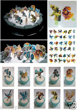 SKYLANDERS Spyros SMALL x32 CUP CAKE Toppers Stand upEDIBLE Wafer Card *D.i.Y*