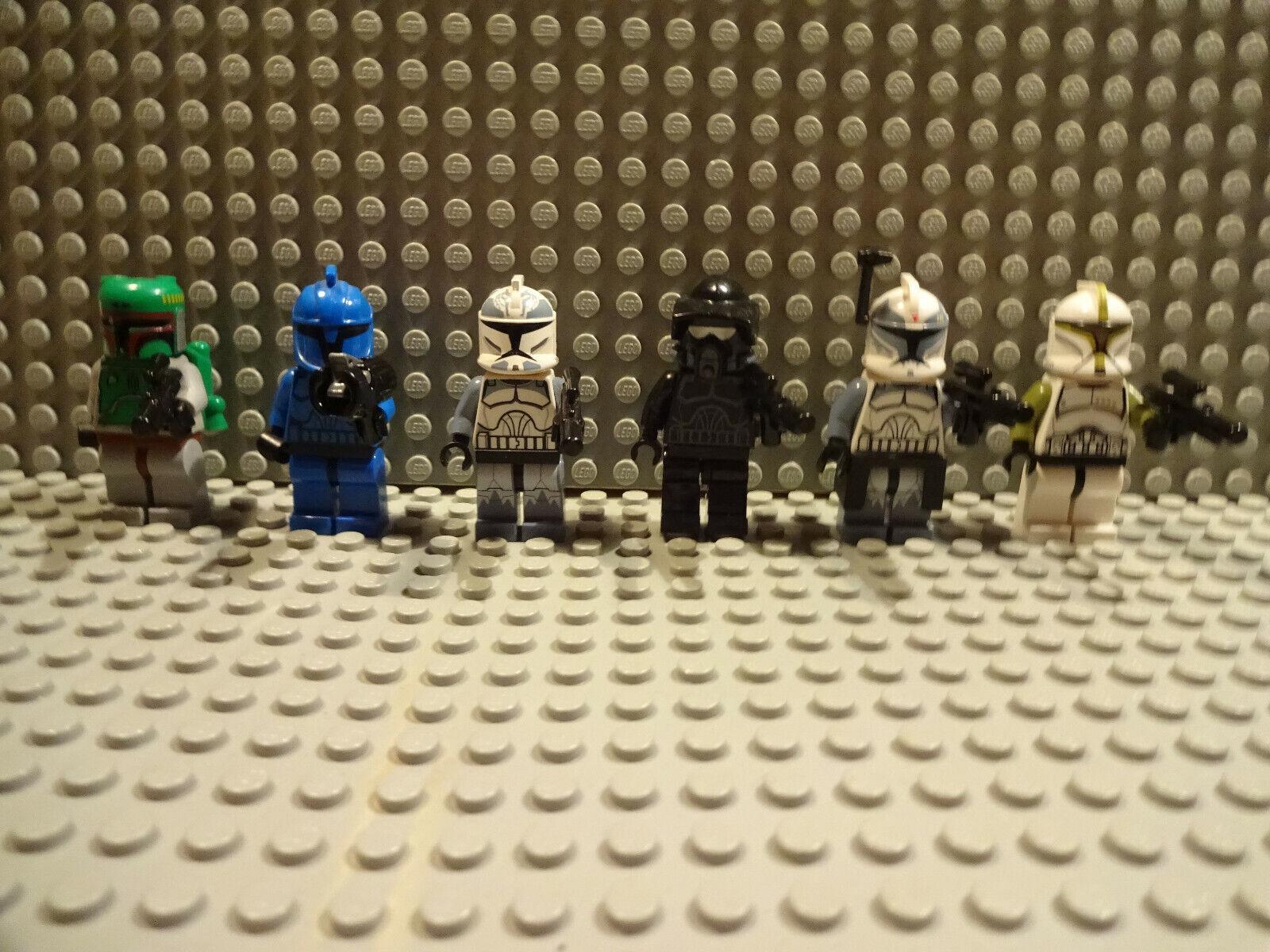 (J12 5) Lego Star Wars Figurines 3341 4476 7144 Promotion Set Selection Used Kg