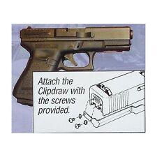 Belt Clip for Glock 17/19/22/23/24/25/26/27/28 All Steel