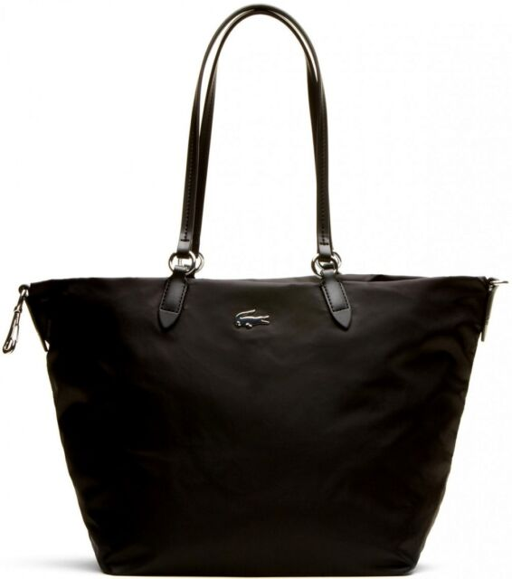 a00755fce8 Borsa Shopping Donna Lacoste Bag Woman Medium Carryall NF1247CZ 000 Black