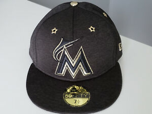 release date: 190f3 e9c77 Image is loading Miami-Marlins-All-Star-Game-New-Era-59Fifty-