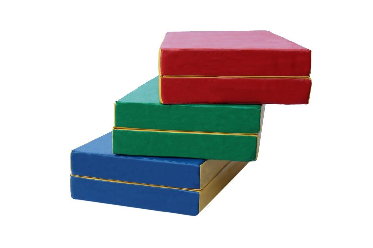 Crash gymnastic mat folding 40''x32''x4'' (100x80x10cm)