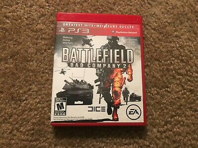 Battlefleld Bad Company 2 Videogame Playstation 3 Case Only Ps3 No Game